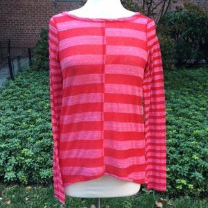 Pilcro and the Letterpress Red Striped Tee